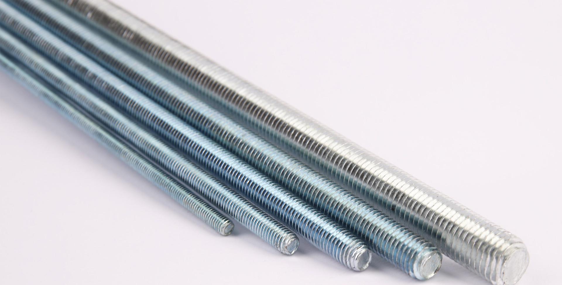 Шпильки с частичной и полной резьбой любой длины